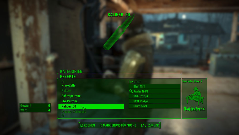 [Fallout 4 Mods] Craftable Ammo