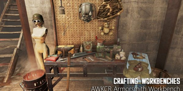Crafting Workbenches Mod 1