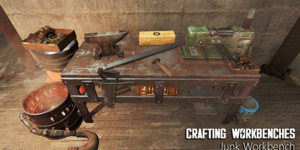 Crafting Workbenches Mod 2
