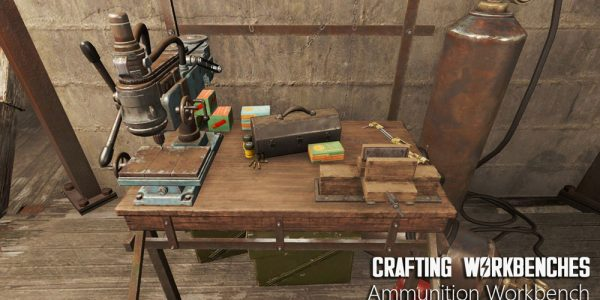 Crafting Workbenches Mod 3