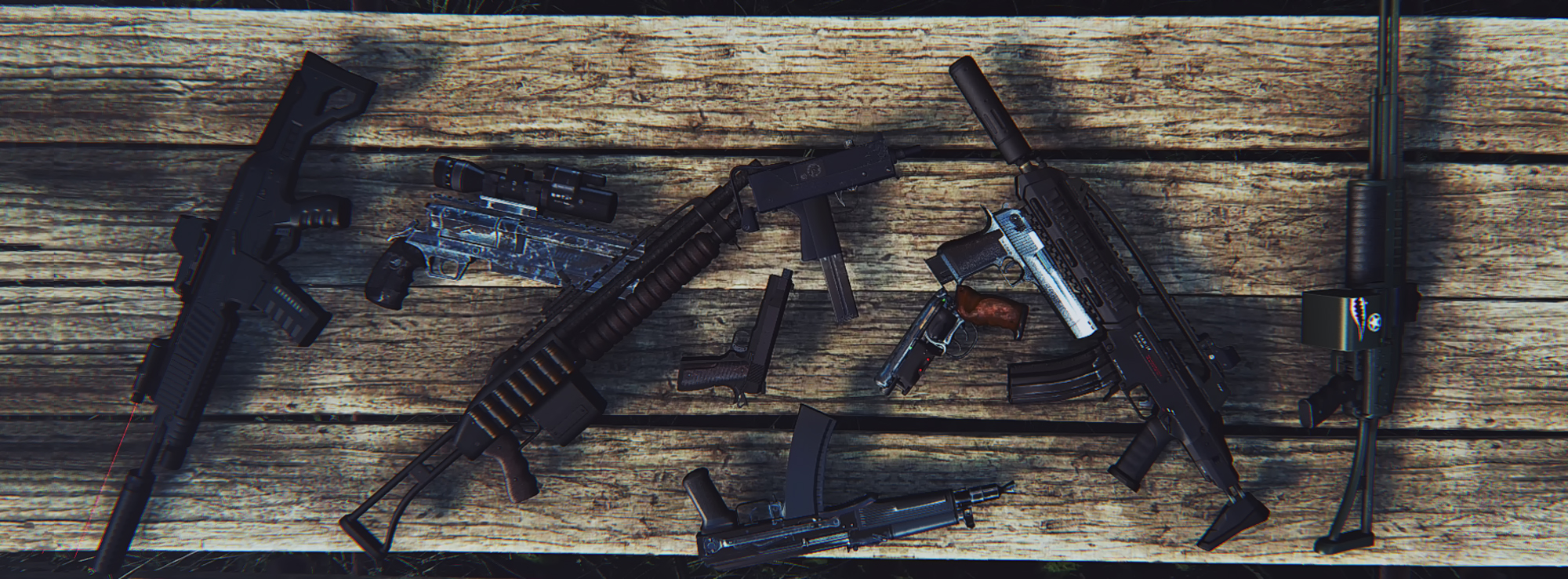 DOOMBASED Weapons Merged Mod for Fallout 4