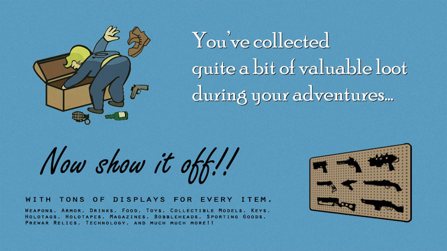 Functional Displays – Display Your Collection for Fallout 4