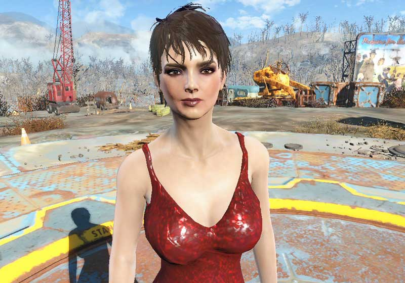 JINA MacCready.esp Mod for Fallout 4