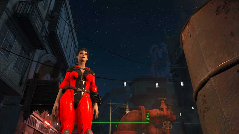 Latex Slooty vault jumpsuit Mod for Fallout