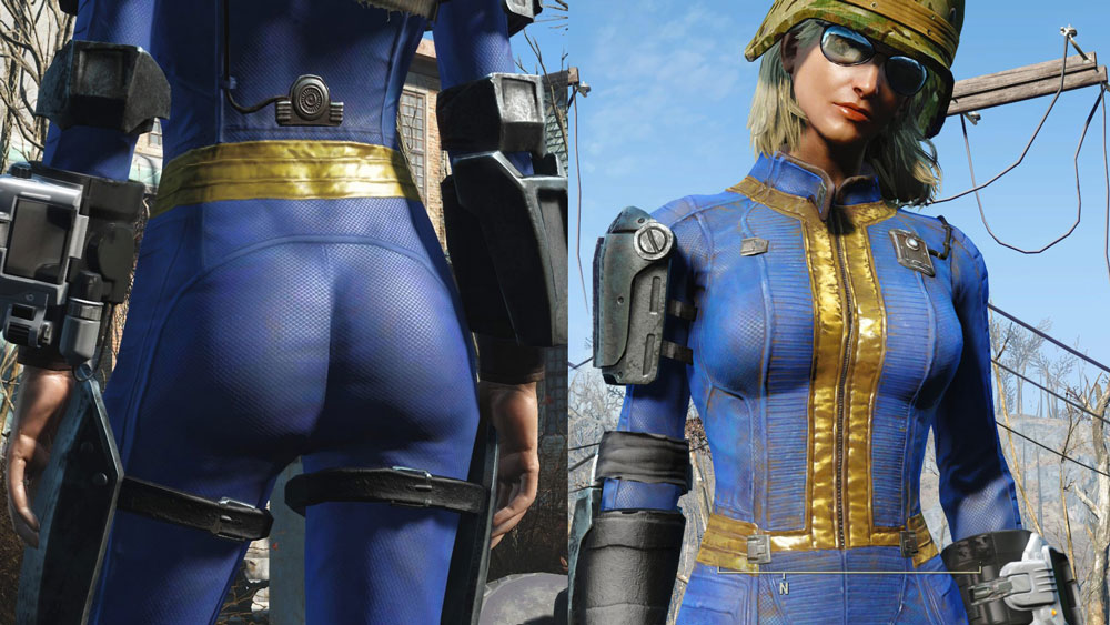 Vault Booty Mod for Fallout 4