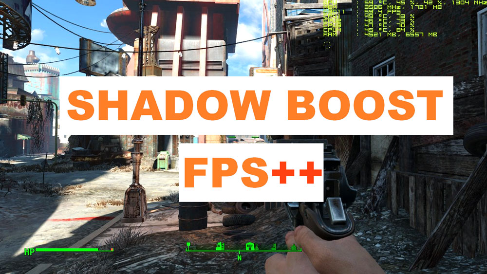 FPS dynamic shadows – Shadow Boost Mod