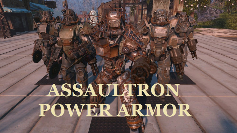 Assaultron Power Armor