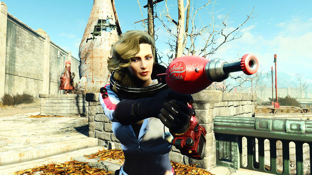 Functional Nuka Girl Rocket Suit