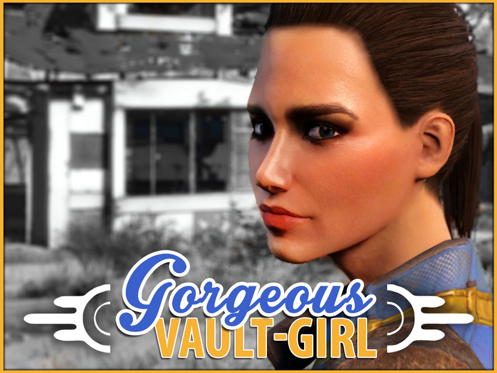 Gorgeous VAULT-GIRL Mod for Fallout 4