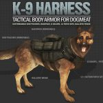 K-9 Harness – Tactical Body Armor and Backpack for Dogmeat
