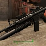 M4A1 w Under Barrel Mod for Fallout 4