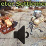 Quieter Settlements Mod for Fallout 4