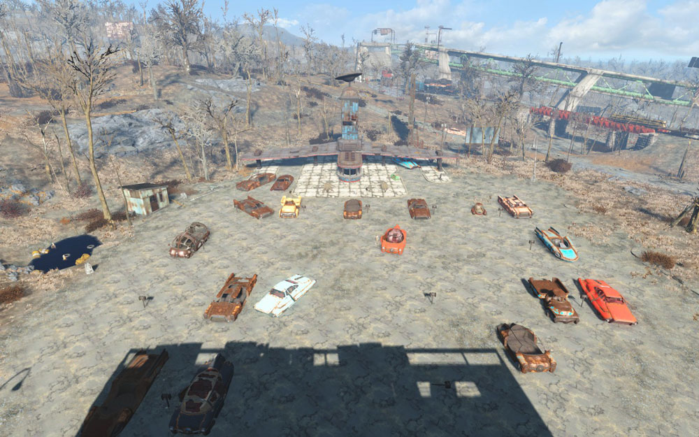 starlight drive in overhaul fallout 4 mods