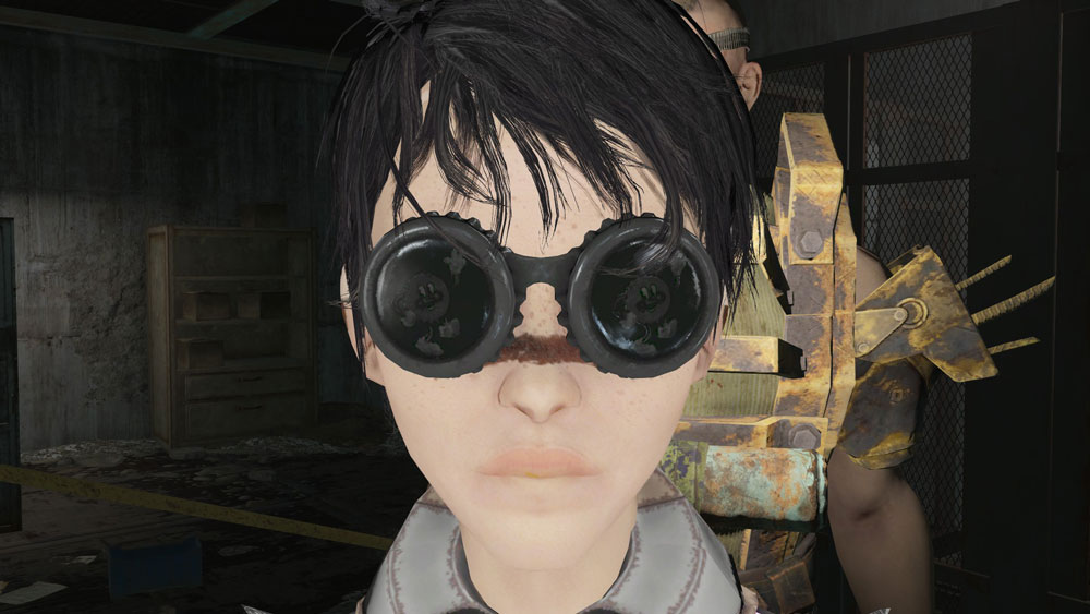 Cappy Glasses Black Retexture