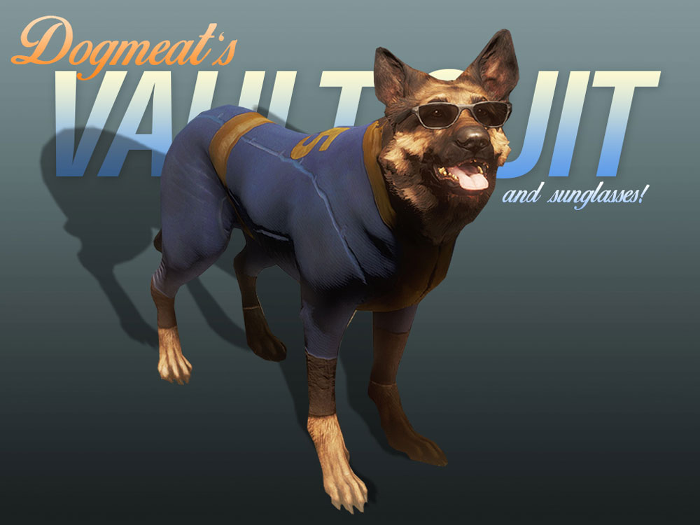Dogmeat's Vault Suits
