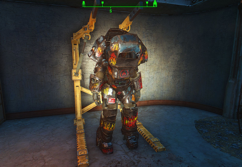 Nukaworld Raider Overboss Power Armor